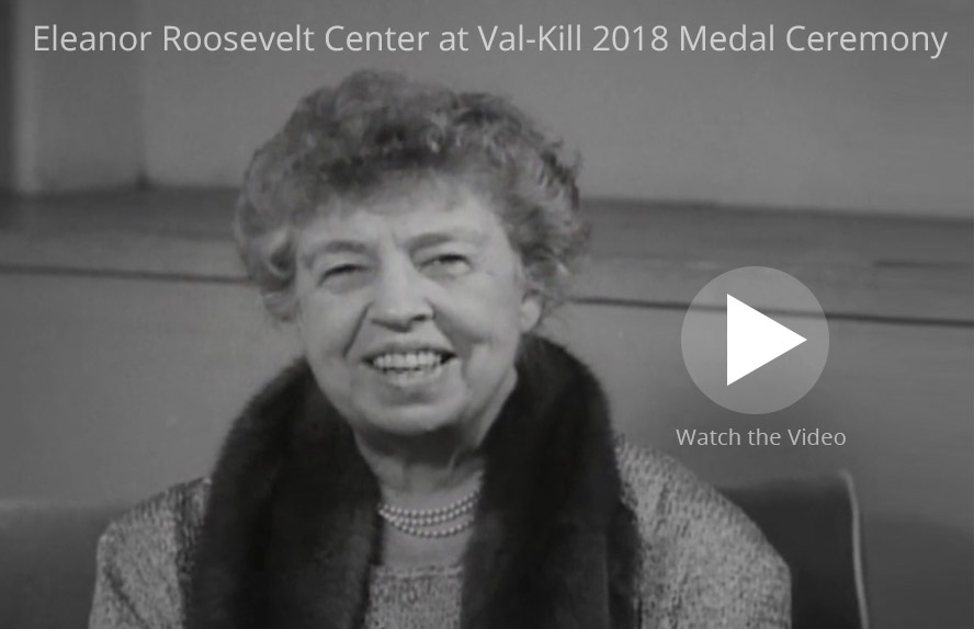 Eleanor Roosevelt Val Kill Medal Eleanor Roosevelt Center Eleanor
